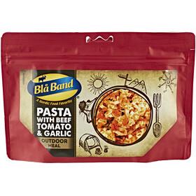 Blå Band Pasta med nötkött, tomat och vitlök